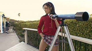 Cute schoolgirl Stephanie