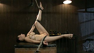 Submissive Annika getting her ass fucked