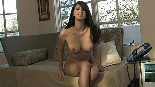 Talia Shepard masturbating while she's talking by phone