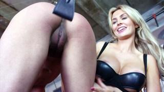 Nina punishing two young sluts