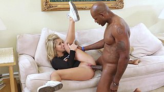 Madelyn fucks her mom's black boyfriend