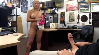 A hot stripper visit the shop
