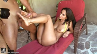 Ava Addams is spending time with her boyfriend