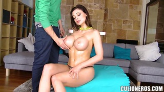One of hottest chicks Aletta Ocean exposing