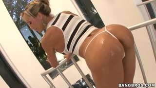 Brandi Love is showing big breasts and ass