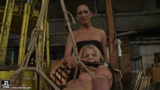 Bianka Lovely shows Mandy Bright the meaning of femdom