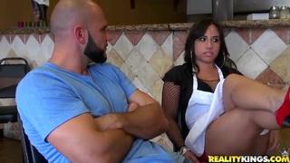 Pepperoni pussy with Gabbi Vega and Jmac.
