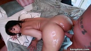 Latina With A Perfect Natural Round Ass