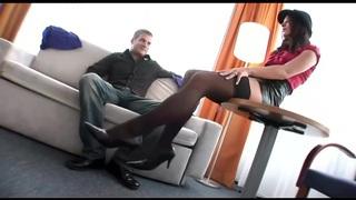 Hot Footjob Foot Sex