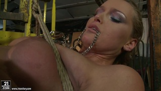 Kathia Nobili and Mandy Bright body tying with rope