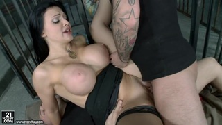 Sultry hot Aletta Ocean gets a hole stretching fuck she always wanted and c...