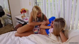 Amanda Tate and Payton Leigh - Cheer-up Sex
