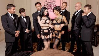 The Secret Soiree: Six-Man Gangbang