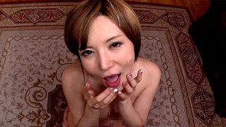 Three-Way POV MILF Blowjob