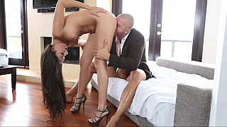 Amazing Nikki Daniels sliding on my cock