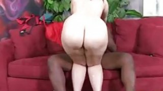 Big Busty Redhead Hungers For BBC