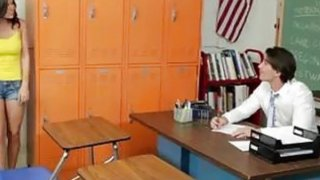 Sexy Teen Does Her Teacher