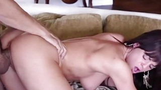 Cutie Rahyndees red pussy gets squeezed