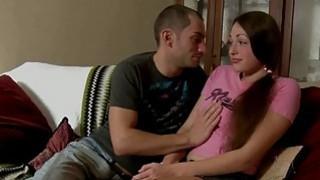 Busty brunette teen Vlada gets nailed