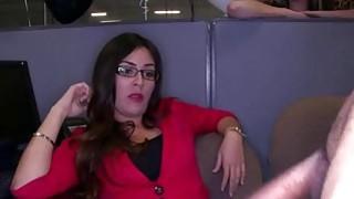 Secretaries going wild and sucks that big hot cock