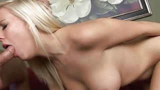 Blonde Britney Beth  loves to suck cock