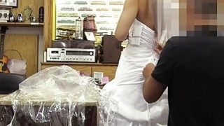 A Wedding Dress To Pawn At The Pawnshop