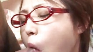 Young? Rino Mizusawa gets nasty with two tasty dongs