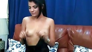 sexy camgirl has her legs spread for you