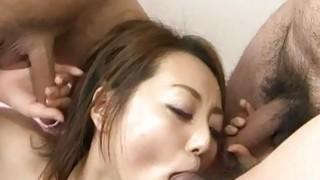 Facial to end? Yuu Shiraishis filthy oral show
