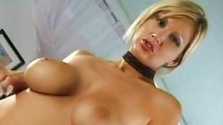 Beautiful blonde solo