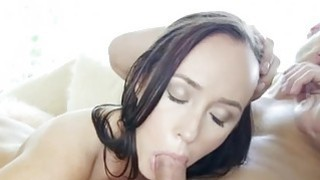Sweetheart starts moaning from lots of orgasms