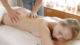 Instead of massage excited hottie acquires sex