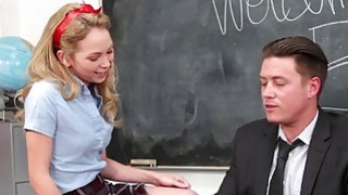 InnocentHigh  Promiscuous Teen Fucks Teacher