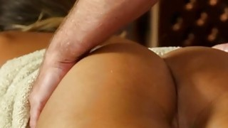 Very tricky spa of beautiful masseur