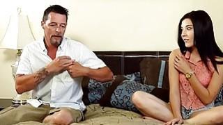 Slutty babe Jenna Reid gives massage and fucked hard