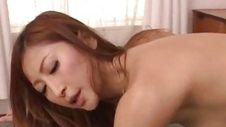 Smooth love making along perky tits Reira Aisaki