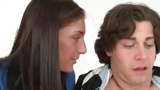Busty milf Tara Holiday enjoyed threesome with teen couple