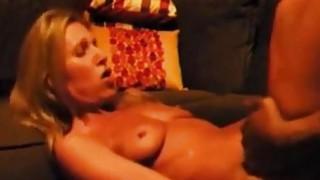 Classy fit milf fucking a big black cock