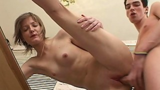 Wild cock sucking with babe