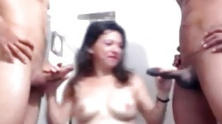 Two Big Dicks vs One Latina