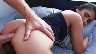 Sexy amateur GF anal pounded while being filmed