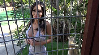 Slut behind the bars