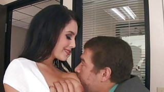 Noelle Easton deep throat blowjob Xander Corvus