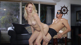 Sierra Nicole fucks her blindfolded stepdad