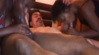 Hot rough african orgy is what these babes are up to