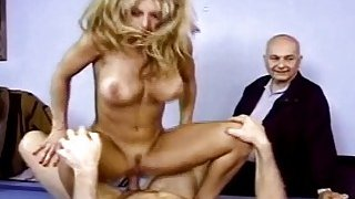 Housewife Gets Fucked In Front Of Husband And Loves It