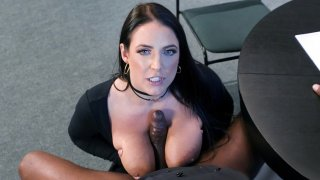 Angela White give blow and tit jobs to Prince Yashua