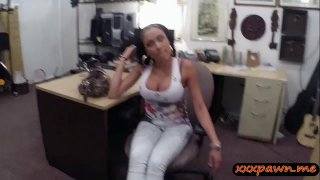 Big breasts latina screwed by pawn dude