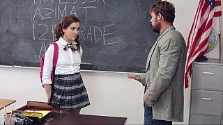 Punishment for a schoolgirl