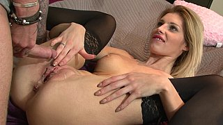 Sensual sex with his stepsister